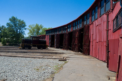 The roundhouse in Jamestown, Ca.