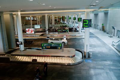 Toronto airport baggage claim.
