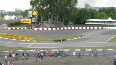 F1 practice.