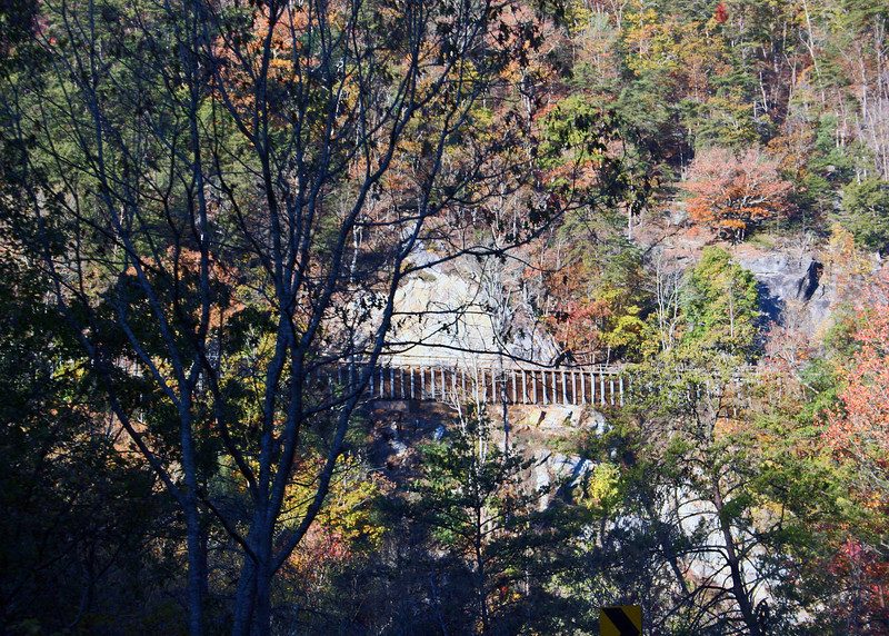 Aquaduct along Ocoee River in Tennessee