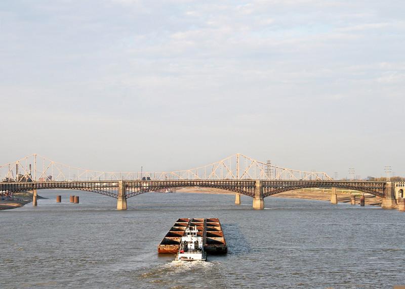 Mississippi River at St. Louis, Missouri