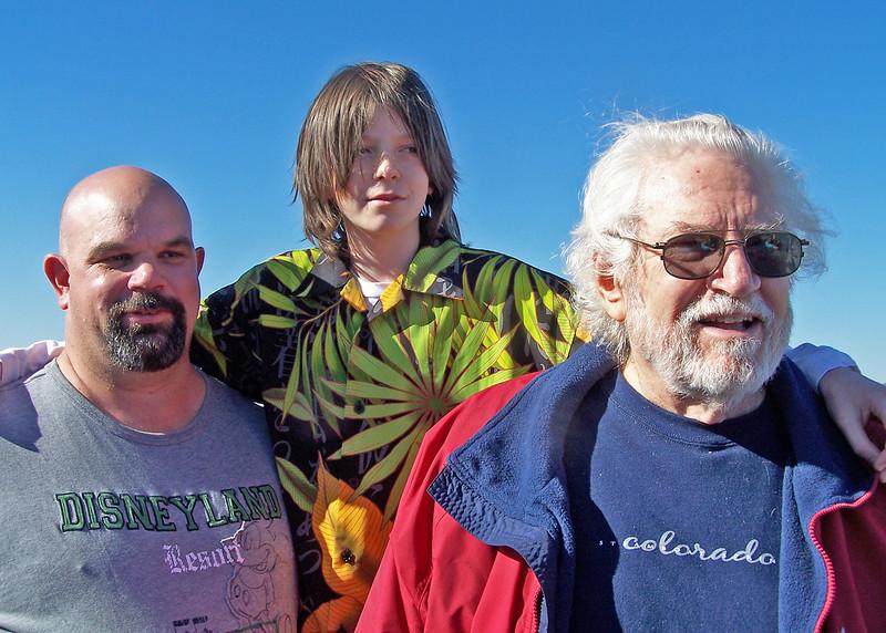Craig, Craig and Grandpa Mike