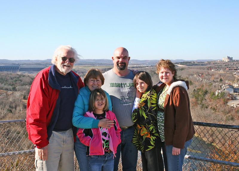 Grandpa Mike, Grandma Suzi, Astali, Craig, Craig and Sherry