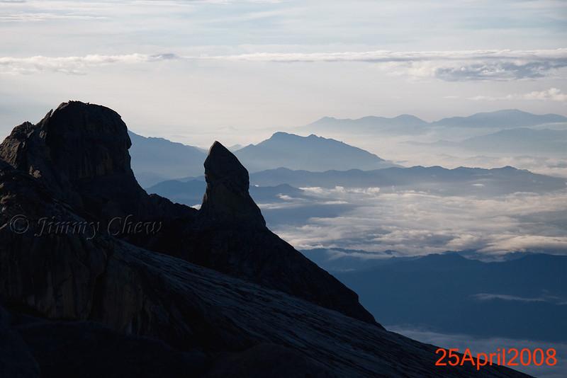 Range of mountains far beyond.