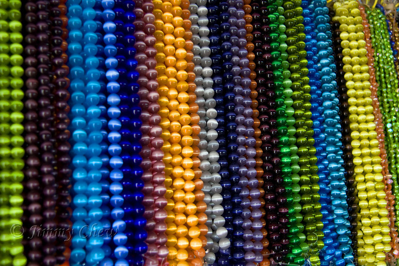 Necklaces. Beautiful colors.