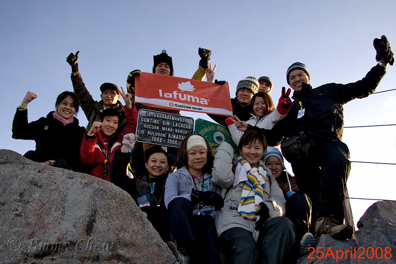 We made it! Yay! Clockwise - Tze Min, me, KT, Brian, Dogbert, Edna (organiser), Brian, Lee Hsia, Lee Phin, Yen Ling, Cherie and Margaret.