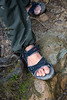 Hiking sandals are alright for climb on Day 1, not Day 2 to Low's Peak.