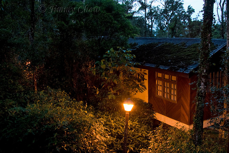 One of the lodges in Mesilau Nature Resort.
