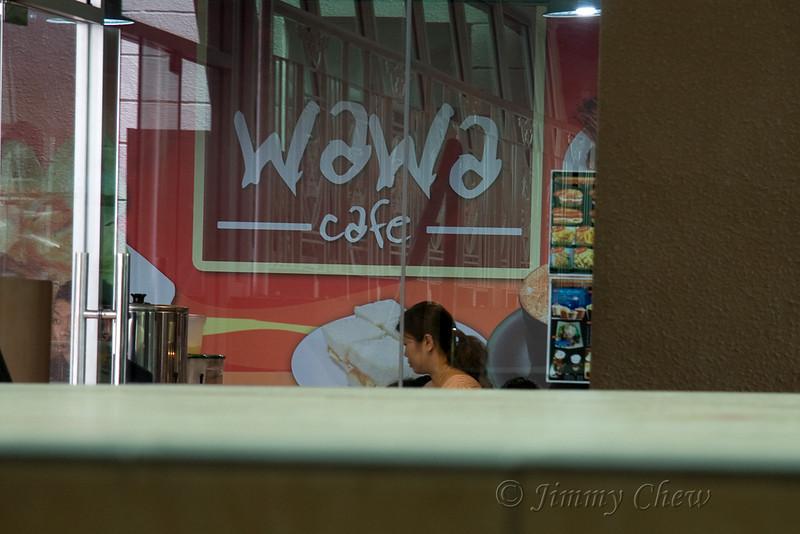 Wawa Cafe.