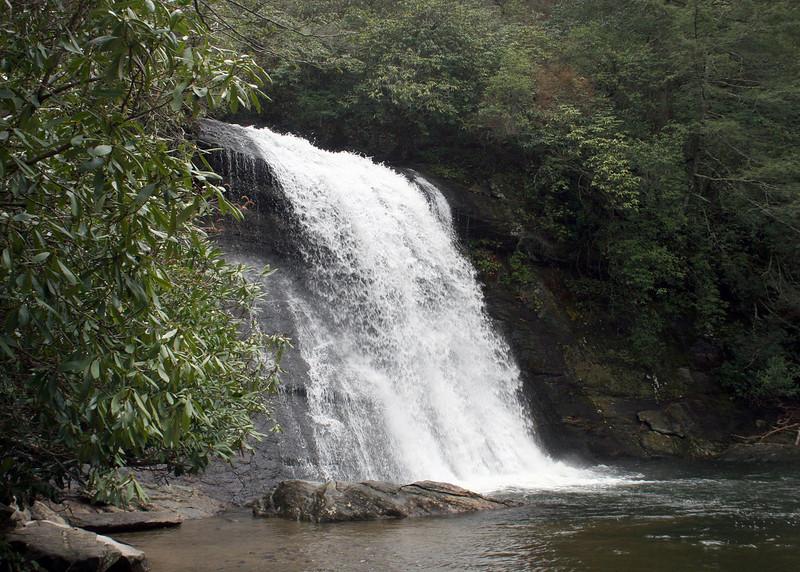 Silver Run Falls, Cashiers, NC