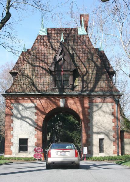Entrance to Biltmore