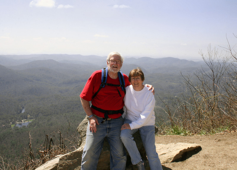 Mike and Susan at the Continental Divide