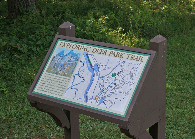 Deer Park trail sign