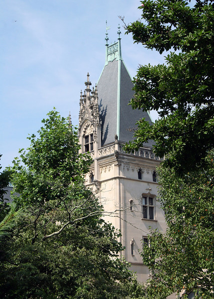 Front tower of Biltmore