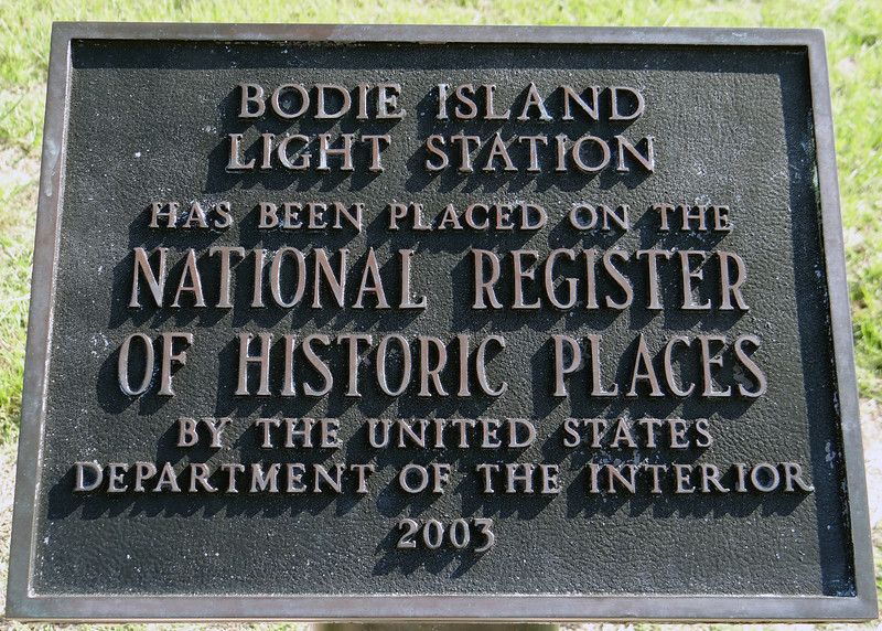 Bodie Island Light Station sign