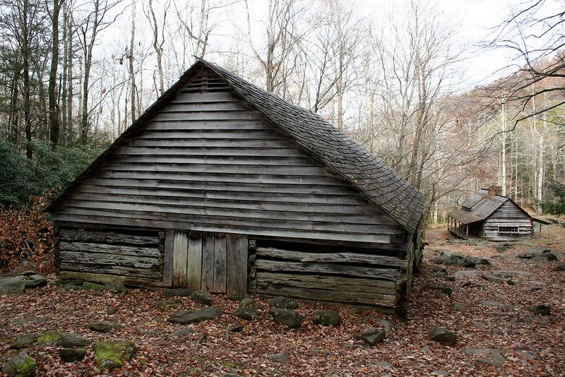 Ogle barn and house