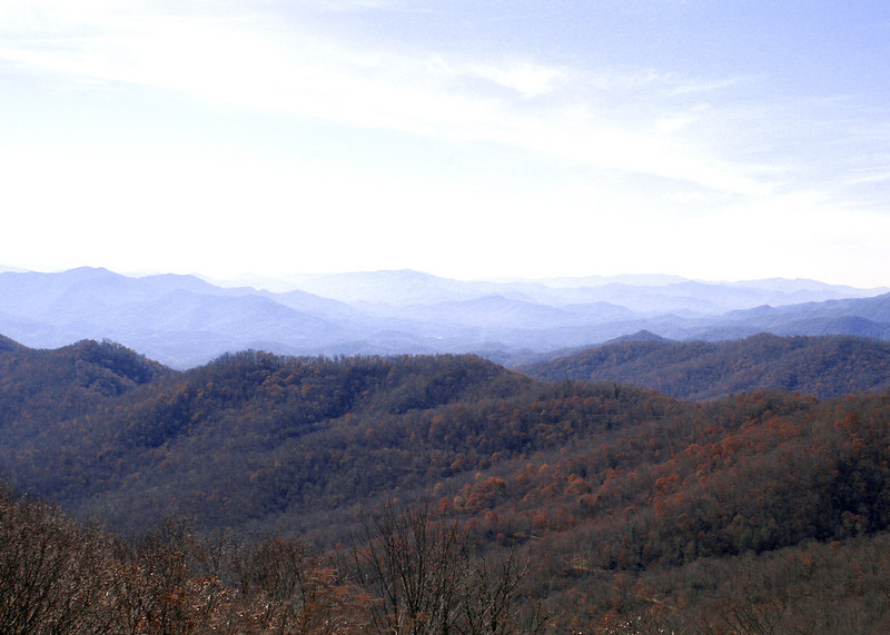 Plott Balsams Ridge along the Blue Ridge drive