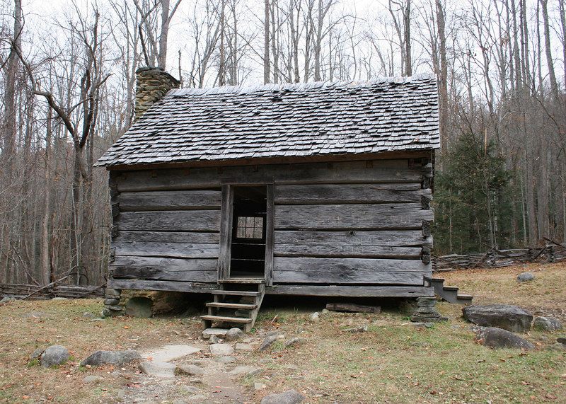 Jim Bales' cabin on the Roaring Fork Loop in the Smokey Mountains, TN
