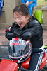 Young bike rider at bike sports by MPPP.