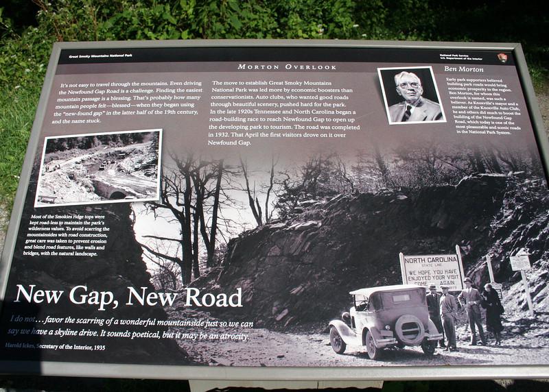 Newfound Gap informaiton
