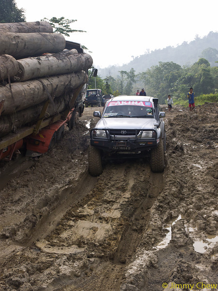 Our 4x4 vehicles had no problems getting through.