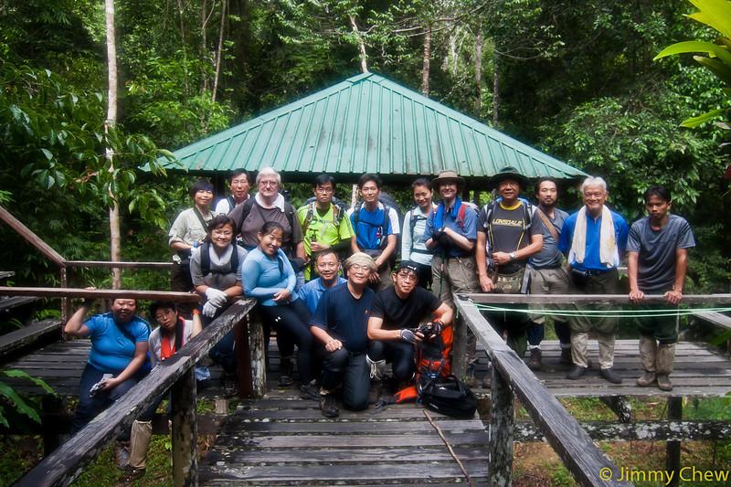 Group photo at Ginseng Camp.