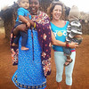 Faith, a Masaii and also an AYP teacher. She welcomed us to her village which was actually in Tanzania on the border of Kenya. She's holding Penzi who is Paige's daughter (the co-founder of AYP).