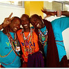 These 3 Masai guys took the kids yoga training! Super awesome!