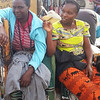 Masai market- I traded my water bottle to one of these women for a cute basket.