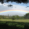 amazing rainbow at La Esmerelda