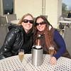 yay wine country!!! kim & me at gloria ferrar
