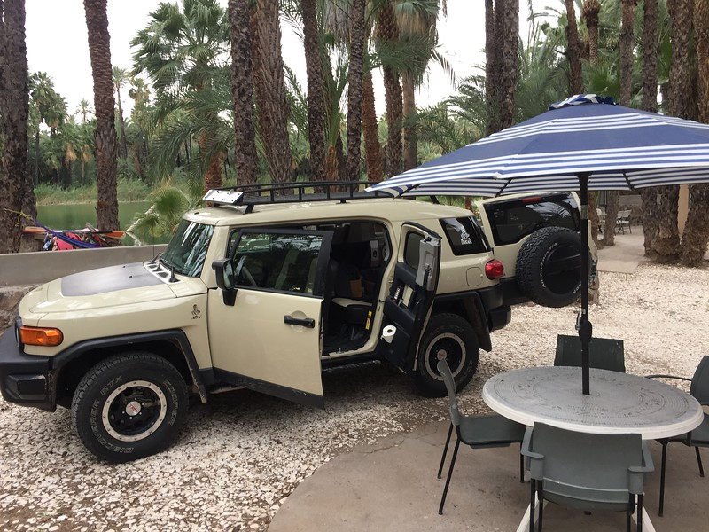 At the Ignacio Springs in San Ignacio, BCS (Baja California Sur)