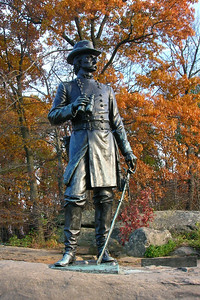 "Gouverneur Kemble Warren (January 8, 1830 – August 8, 1882),""Hero of Little Round Top"""