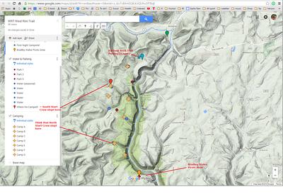 WRT map