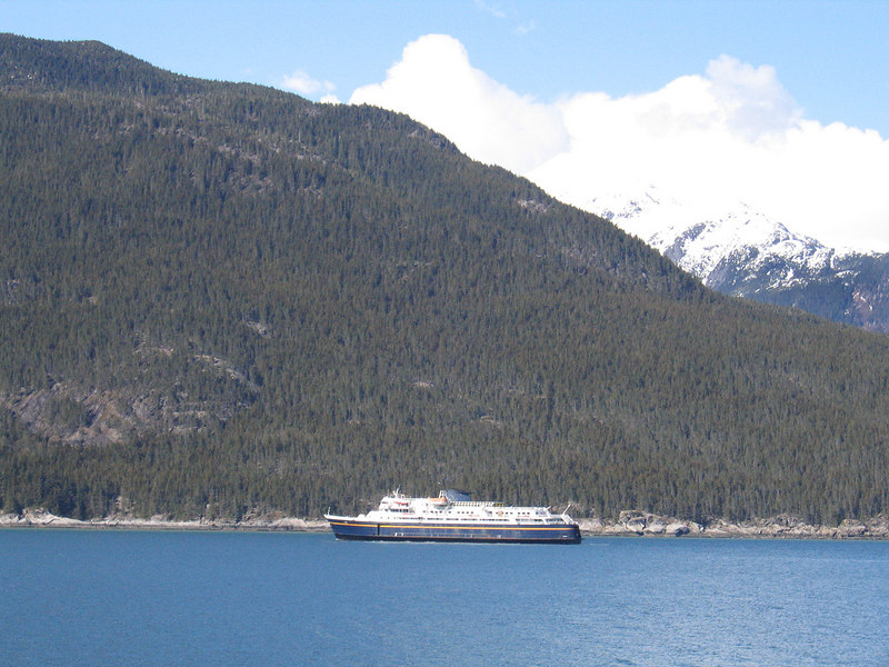 Ferry in Chilkoot Inlet
