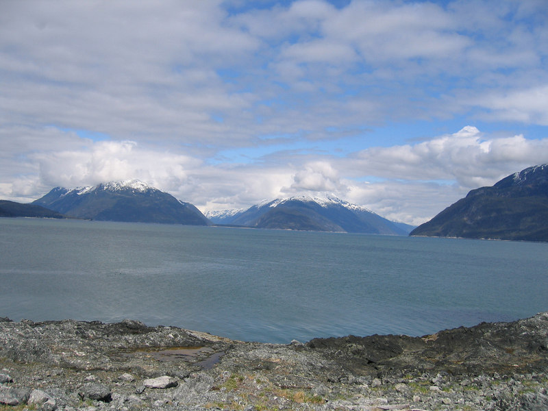View from Battery Point of Chilkoot Inlet