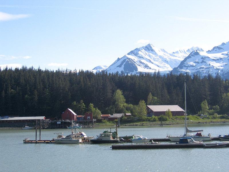 Docks at Letnikof Cove