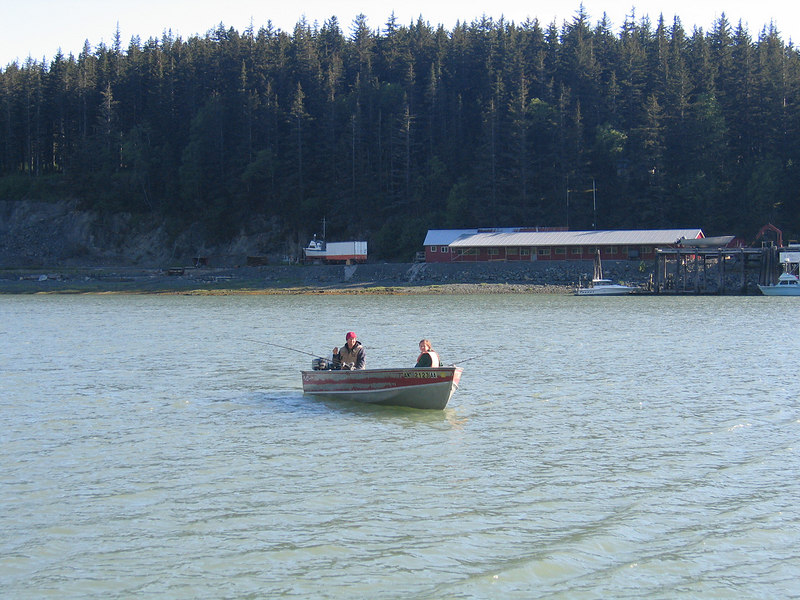 Fishing in the Salmon Derby