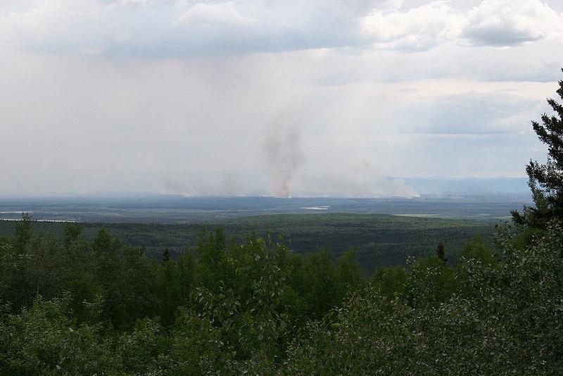 The Nenana fire