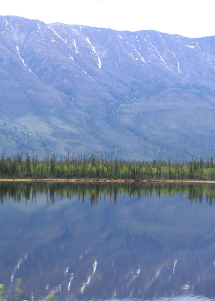Reflection Lake with Kluane Range in the background