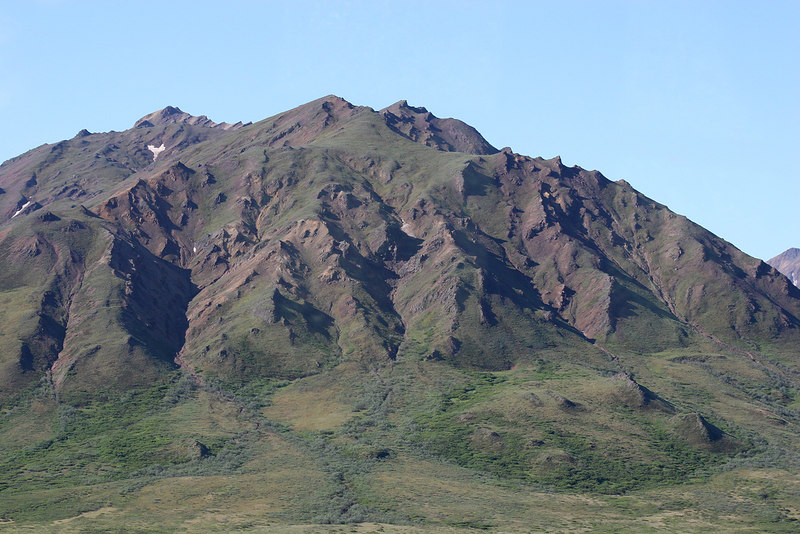 Mountains west of Toklat River Rest Stop