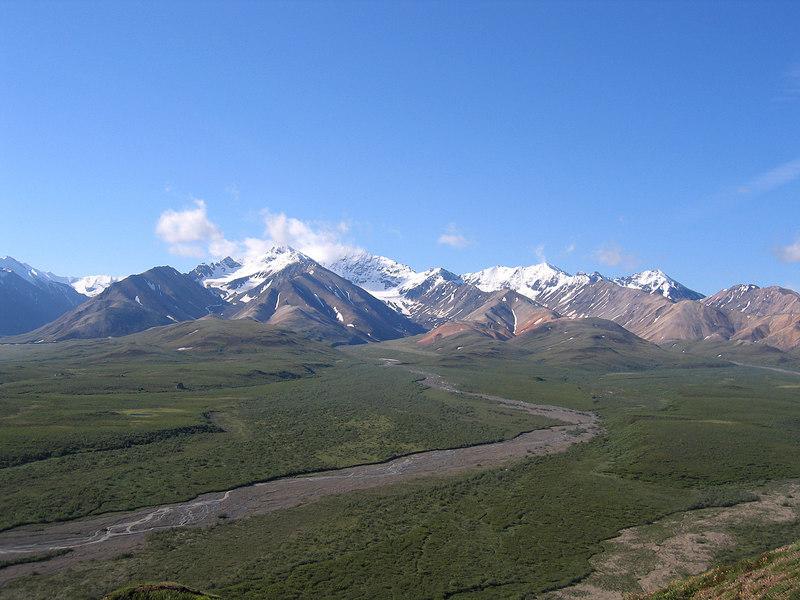 Polychrome Glacier