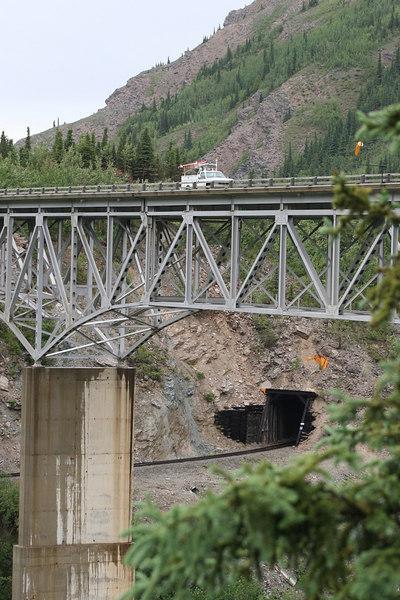 Moody Bridge over the Nenana River