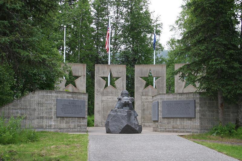 Alaska Veterans Memorial/POW-MIA at Byers Lake