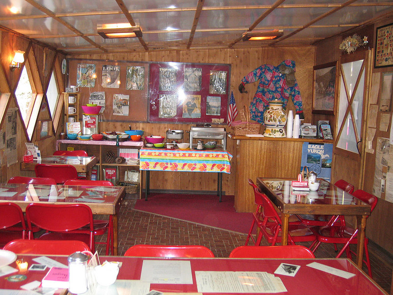 The Sourdough Campground cafe