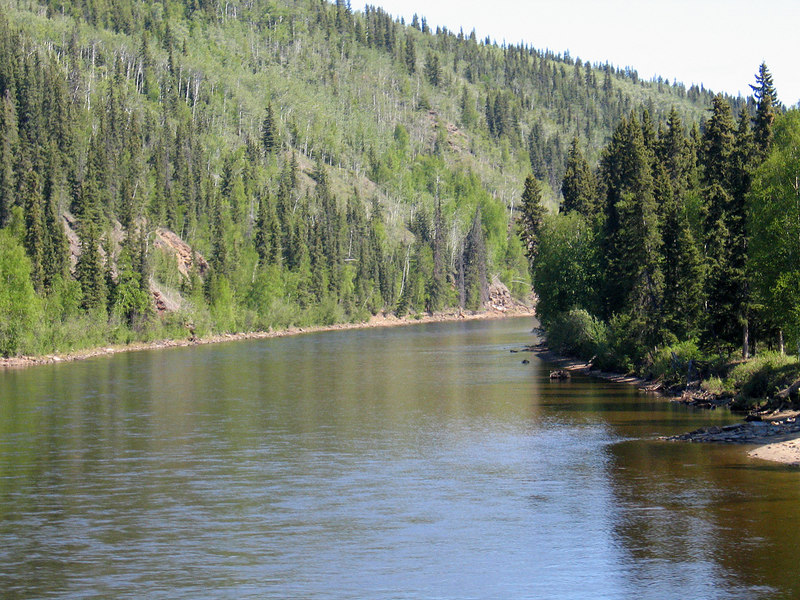 Salcha River about 40 miles south of Fairbanks, AK