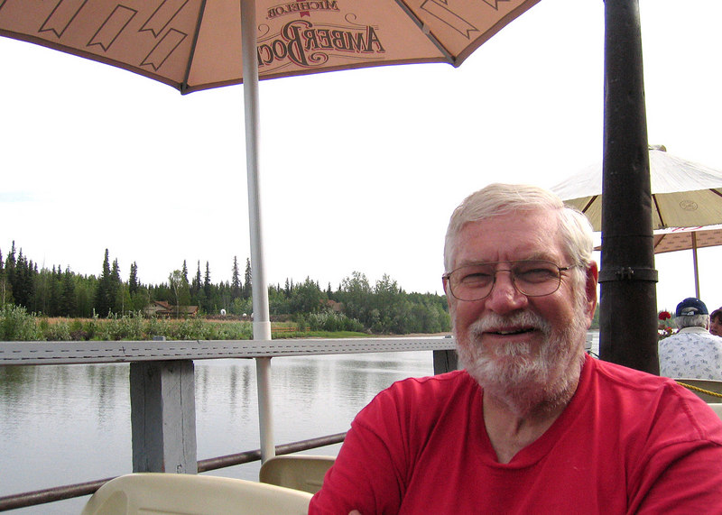 Mike at the Pump House Restaurant along the Chena River
