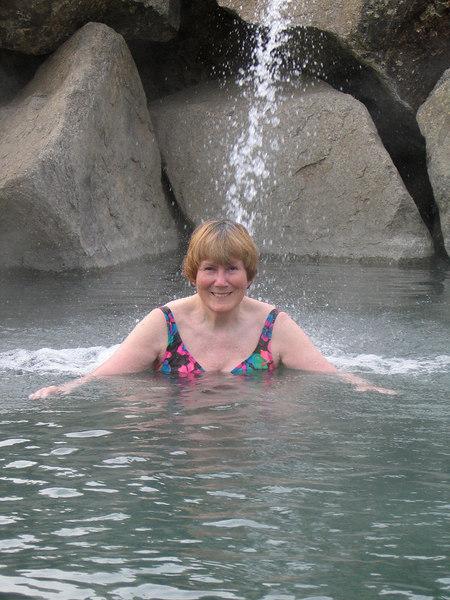 Susan in Chena Hot Springs