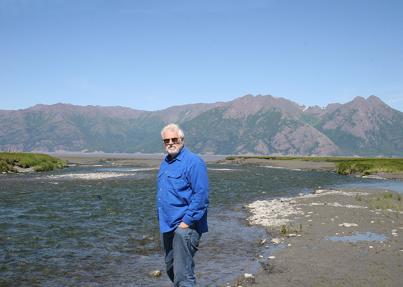 Mike at Resurrection River in Hope, AK