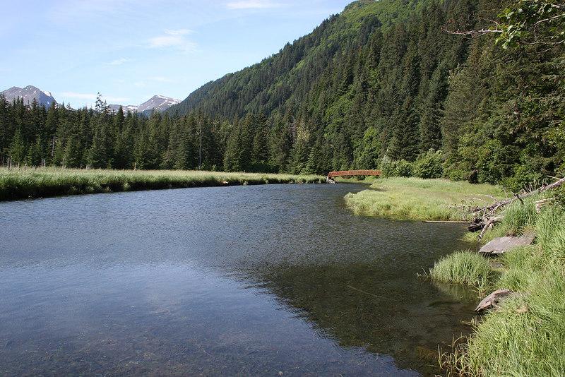 Tonsina River from Resurrection Bay, Seward, AK